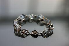 Nice crystal bridal bracelet based on Swarovski  crystallized elements