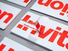 invitations forHelsinki Design Week / byBond