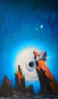 Official website of John Harris: landscape, science fiction and marine artist Retro Kunst, Retro Art, Space Illustration, Fantasy Illustration, Fantasy Kunst, Fantasy Art, John John, Sci Fi Kunst, Science Fiction Kunst
