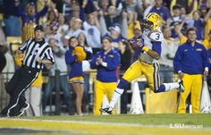 An 89-yard punt return against Ole Miss on a Saturday Night in Tiger Stadium sparked a fourth-quarter comeback by the eight-ranked #LSU football team, 41-35.    Odell Beckham Jr. brought back memories of Billy Cannon's 1959 Halloween night punt return of the same distance against the Rebels with a dazzling run that ended with a game-tying touchdown.
