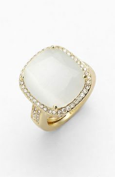 Ariella Collection Stone & Crystal Ring