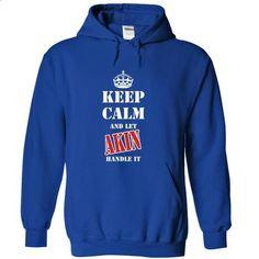 Keep calm and let AKIN handle it - #sweatshirt quilt #moda sweater. ORDER HERE => https://www.sunfrog.com/Names/Keep-calm-and-let-AKIN-handle-it-umwzs-RoyalBlue-6610449-Hoodie.html?68278