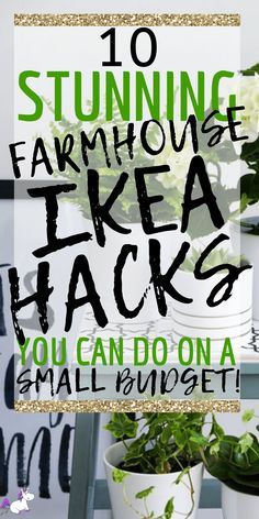 10 incredible Farmhouse Ikea Hacks For People Who Love Home Decor On A Budget! 10 incredible Farmhouse Ikea Hacks For People Who Love Home Decor On A Budget! Best Ikea hacks for Farmhouse Style Decorating, Farmhouse Decor, Budget Decorating, Diy Hanging Shelves, Best Ikea, Boho Home, Diy For Teens, Vancouver, Organisation