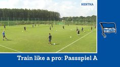 Training unter Jos Luhukay | Passpiel Variante A | Train like a Pro | He...