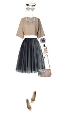 """Tulle"" by ladomna ❤ liked on Polyvore"