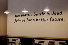 The plastic bottle is dead!
