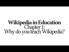 5 things you must know before you get started on writing on the Wikipedia. From…