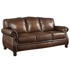 Found it at Wayfair.ca - Walborn Leather Sofa