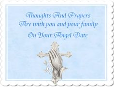 Prayers on your angel date