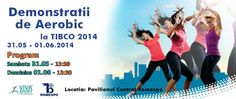 Demonstratii de Aerobic la TIBCO 2014 Sambata, 31 mai, la 13:30 Viva Sport Club în Bucharest, Romania 31 Mai, Aerobics, Club, Sports, Movie Posters, Movies, 2016 Movies, Film Poster, Films