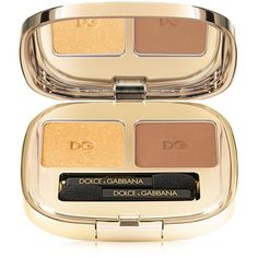 Dolce & Gabbana Smooth Eye Colour Duo ($45) ❤ liked on Polyvore featuring beauty products, makeup, eye makeup, eyeshadow, gold, dolce&gabbana, gold eyeshadow, palette eyeshadow, gold eye shadow and gold eye makeup