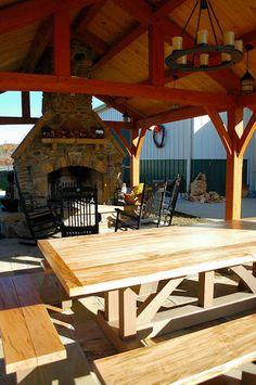 Timber Frame Gazebos Bridges Pavilions Outdoor Structures Barns Additional Images