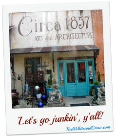 One of my fave places: Circa 1857 in Baton Rouge, Louisiana