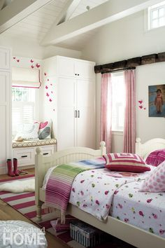 A Charming Bedroom For Little Girl Architecture Ann Sellars Lathrop