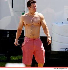 I have a new celeb crush-this pic combined with his family man steez--marky mark, I'm yours