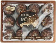 Ferrero Rondnoir Dark Chocolates w/ Almonds, « Lolly Mahoney