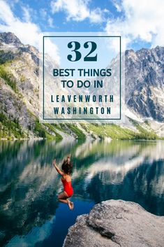 Here are 32 of the best things to do in Leavenworth, Washington. Whether youre visiting Leavenworth at Christmas or in the summer, this list covers all seasons! If youre looking for day trips from Seattle or things to do in the Pacific Northwest, be sure to stop by Leavenworth! Its a charming Bavarian town two hours east of Seattle. With beautiful nature, fun Bavarian architecture, and stunning wineries, restaurants, and hotels, this is a unique town thats worth the visit! #leavenworthwa