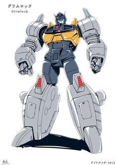 TF Victory - GRIMLOCK by *GuidoGuidi on deviantART - Transformers Grimlock Manga Style Autobot