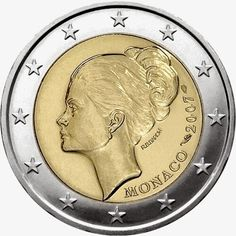 2 euro Monaco 2007, 25th anniversary of the death of Princess Grace Kelly |2 Euro Commemorative Coins