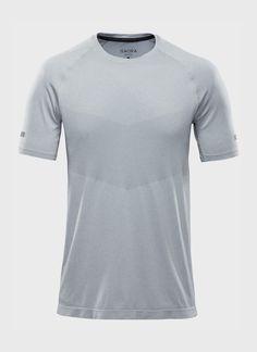 ISAORA | Engineered Mesh Knit Training Shirt