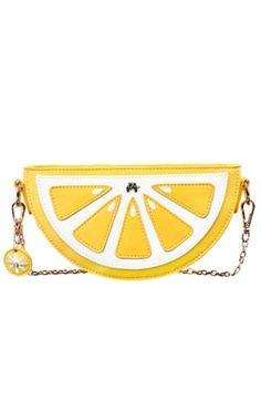 Sweet Yellow Single-shoulder Lemon Chain Bag
