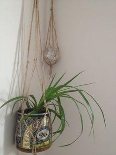 macrame plant hanger pattern