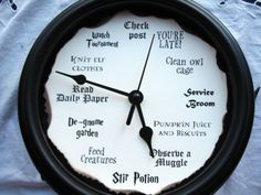 A Molly Weasley-inspired clock will start your day off right! | 13 Harry Potter Accessories Every Fan Needs