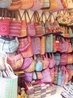 shopping in Hanoi's Old Quarter