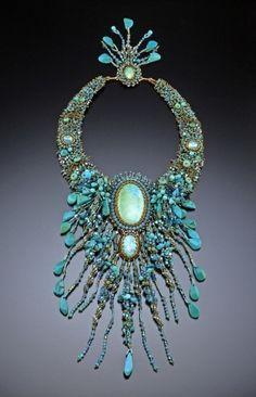 Sherry Serafini beadwork   Handmade wood, embroidery, bead & metal jewelry!