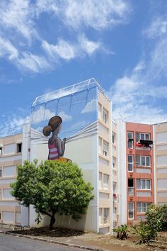 Residential Murals Mix Signature Street Art Styles With...