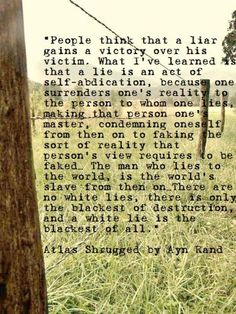 Loved this part of Atlas Shrugged. It's very true! #atlasshrugged #aynrand #quotes