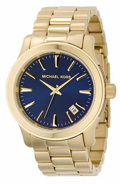 Michael Kors 'Runway' Large Bracelet Watch available at #Nordstrom