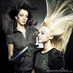 image photo : Woman in a beauty salon