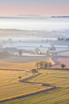 Vale of Pewsey, Wiltshire By Phil Selby
