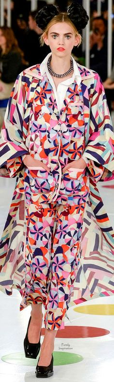 Chanel - Resort 2016 - Look 8 of 96 Chanel Resort, Chanel Cruise 2016, Fashion Week, Love Fashion, Runway Fashion, Fashion Show, Fashion Looks, Couture Fashion, Karl Lagerfeld