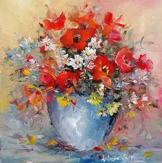 Ăsta-i buchetul buchetelor din tărâmul Buchetești :))) cred că are și albinele de pe câmp, în el. Oil Paintings, Memories, Memoirs, Souvenirs, Oil On Canvas, Remember This, Art Oil