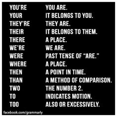 From Grammarly's fb page