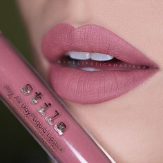 Stila All Day Liquid Lipstick :: FIRENZE Like & Repin.  Noelito Flow instagram http://www.instagram.com/noelitoflow