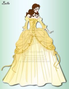 Belle by angidawn24.deviantart.com