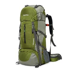 Suretex Waterproof Outdoor Sport Hiking Trekking Camping Travel Backpack Pack Mountaineering Climbing Knapsack with Rain Cover Army green >>> Click image for more details. Best Tents For Camping, Go Camping, Best Travel Backpack, Travel Bags, Best Hiking Backpacks, Beach Cruiser Bikes, Outdoor Backpacks, Backpacks For Sale, Waterproof Backpack