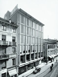Franco Albini, INA casas office, parma