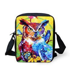 Whosepet Cute Animals Women Messenger Bag Sling Cross Body Handbag Children Girl #BIGCAR #Messagebag