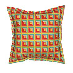 Shop unique pillows, tea towels, cloth napkins, and more designed by independent artists from around the world. Throw Cushions, Custom Fabric, Spoonflower, Cabin, Shopping, Design, Home Decor, Decoration Home, Room Decor