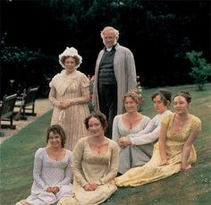 The Bennet family, Pride and Prejudice 1995