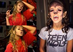 Happy Halloween!-Teen Wolf/Werewolf (MAKEUP TUTORIAL)