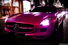 Now That's A Girl's Car!! PURRRFECT PINK!! @Cyndi Haynes Green