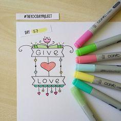 #100daysofdooodles2 #100daysproject #100dayproject #doodle #drawing #markers #inspiration #givelove #рисунок #вдохновение #маркеры