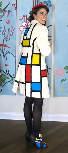 Cassie Stephens: DIY: A Mondrian Coat