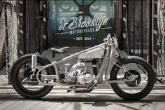 Sultans Of Sprint drag racer by St. Brooklyn Motorcycles.