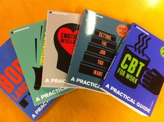 Five Introducing Practical Guides – Body Language, CBT for Work, Emotional Intelligence, Getting the Job You Want and Assertiveness – have recently been added to our popular self-help series! I want all the practical guides